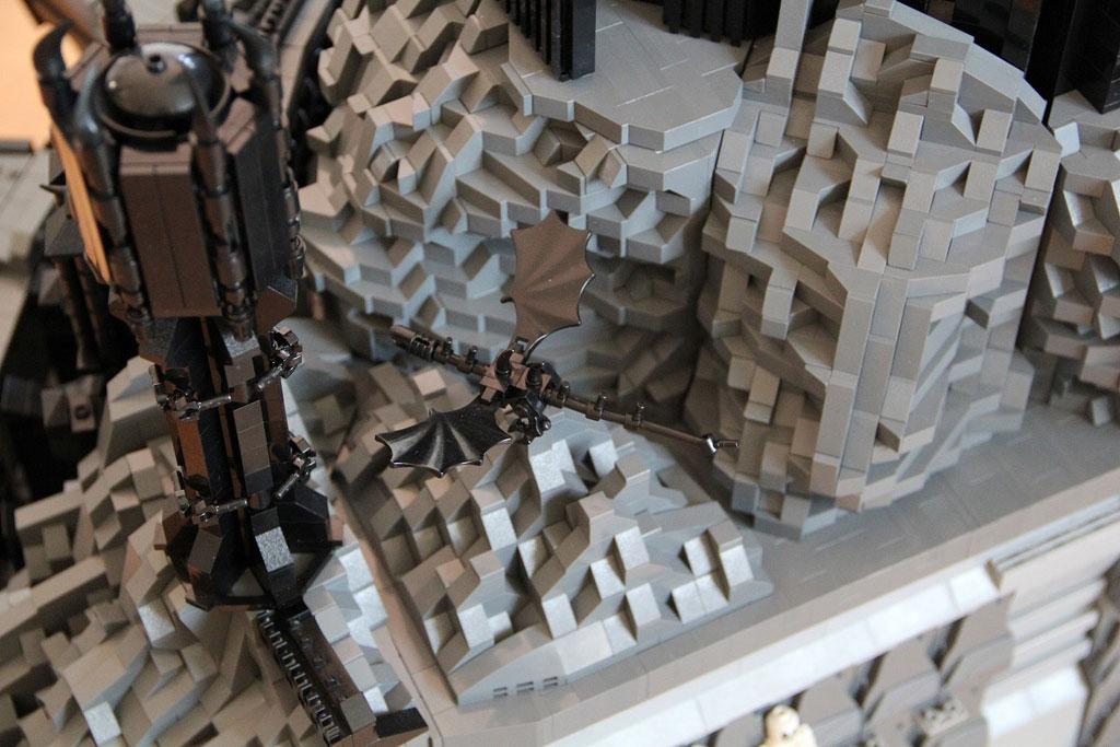 Epic Lego Barad-dur Tower Build