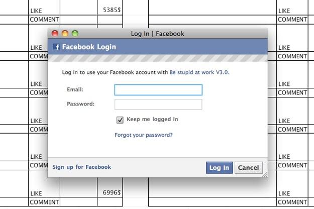Employees Sneak Onto Facebook