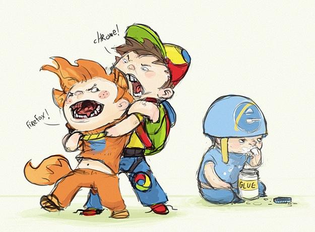 Sketchoholic Browser Wars Contest