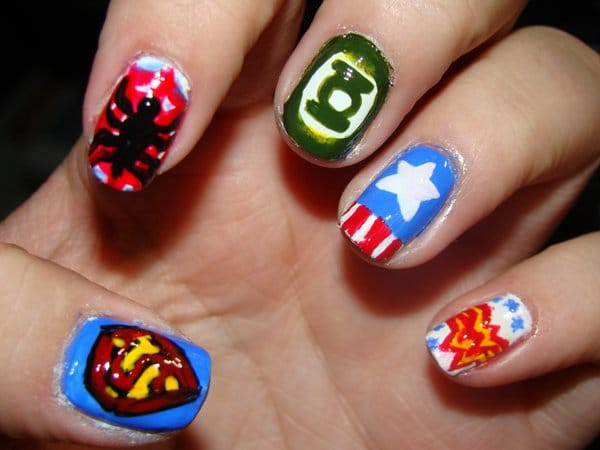 Geek Impressive Nail Polish Manicures