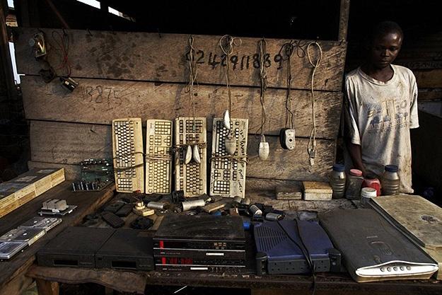 Computer  Wasteland In Ghana