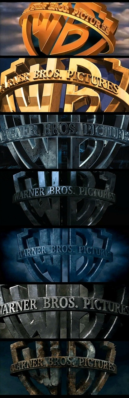 Harry Potter Warner Logo Progression