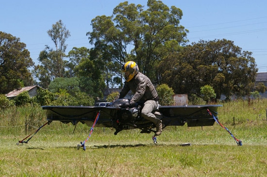 Hoverbike First Real Working Version