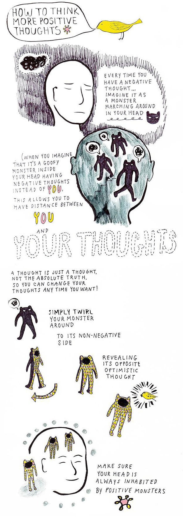 How To: Think More Positive Thoughts