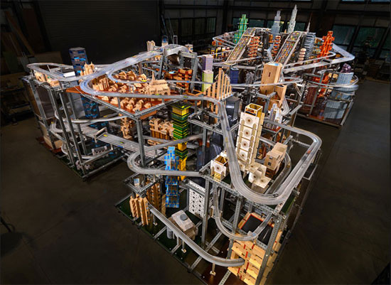 Behold The World's Largest Hot Wheels Car City