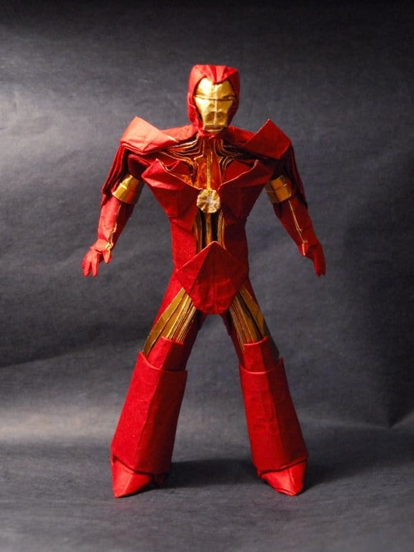 Iron Man Origami Figurine: It's Brutally Awesome