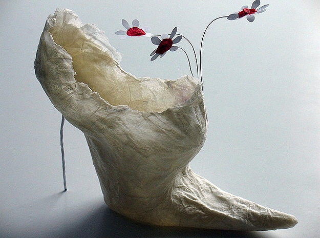 Designer Papercraft Elegant Shoes