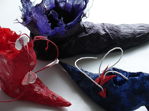 Designer Elegant Papercraft Shoes