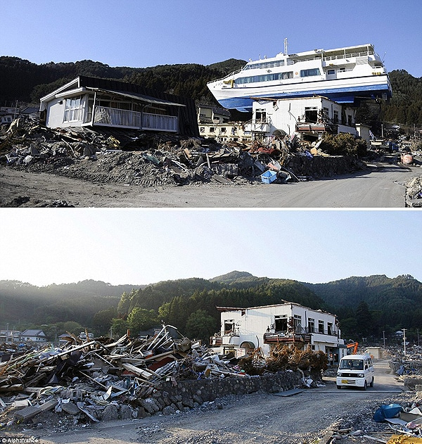 Japan: A Nation Determined To Recover [20 Surreal Pics]