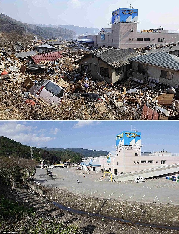 Japan Disaster Clean Up Progress
