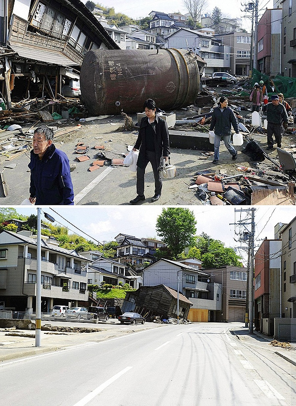 Japan Disaster Clean Up Progress