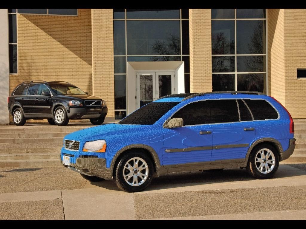 Lego Volvo SUV Build Proof