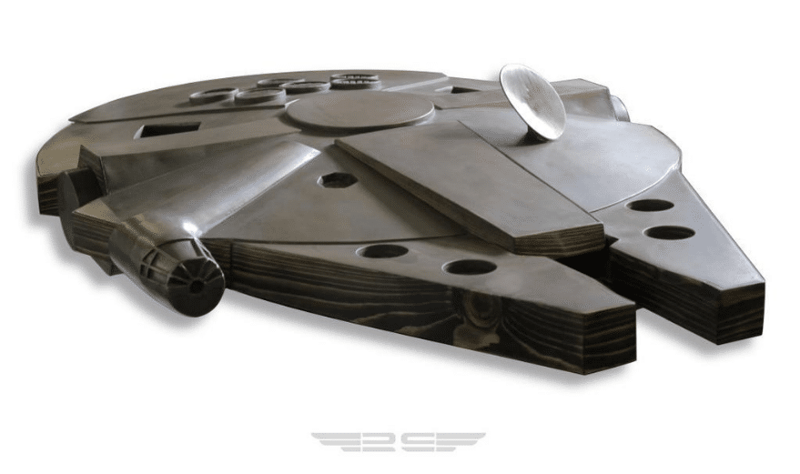 Millennium Falcon Coffee Table Design