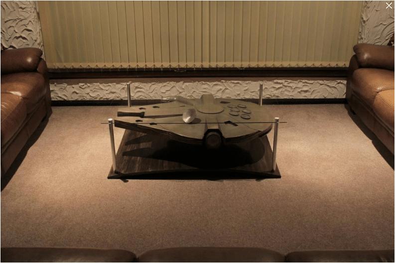 Millennium Falcon Coffee Table Design