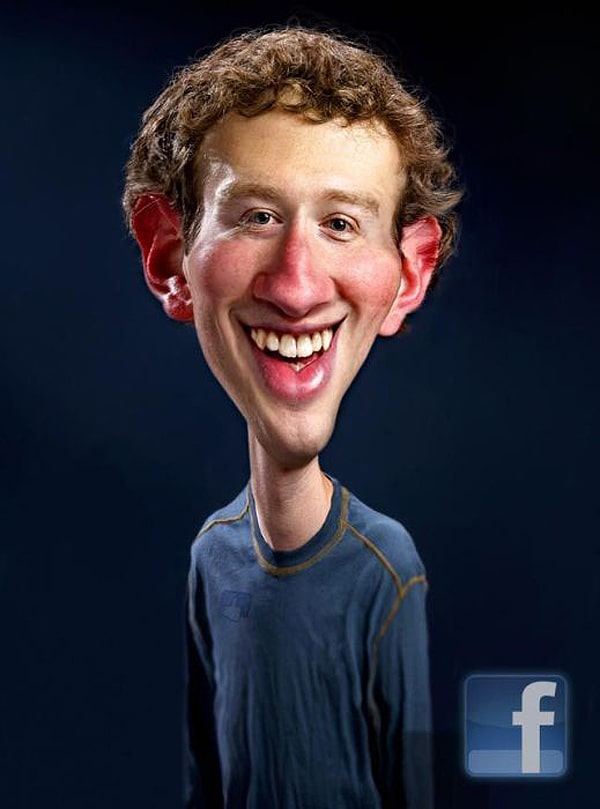 Facebook Caricature By Rodney Pike