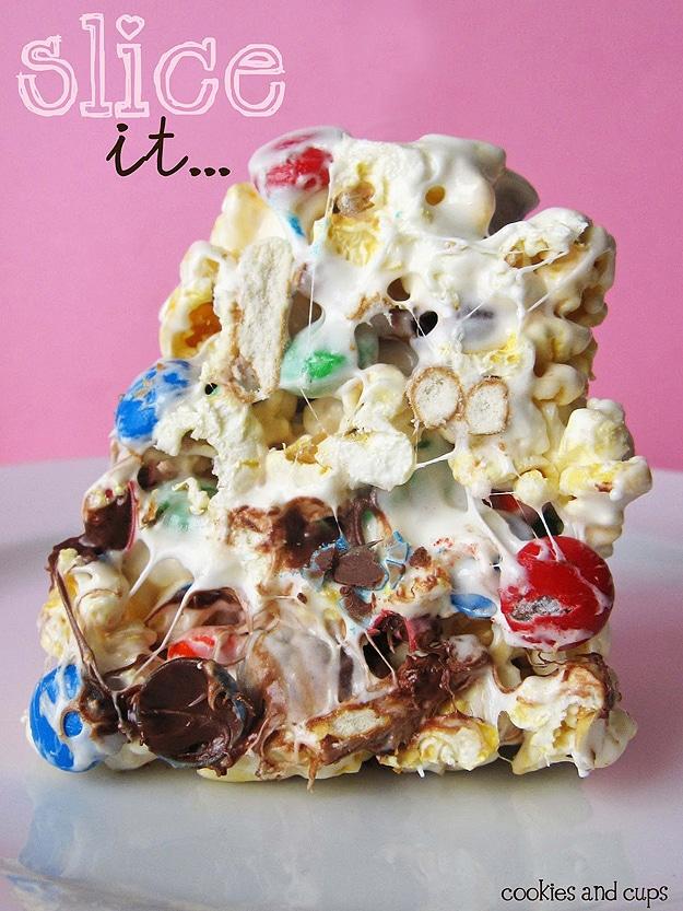 Ultimate Movie Snack Popcorn Cake