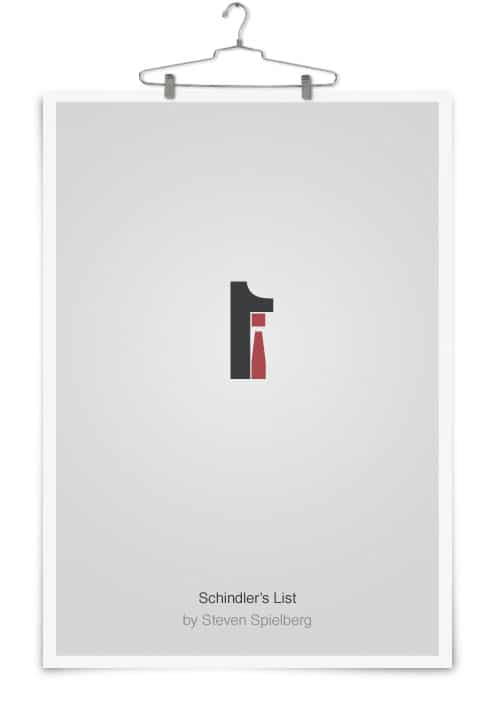 Simplistic Typography Movie Poster Design