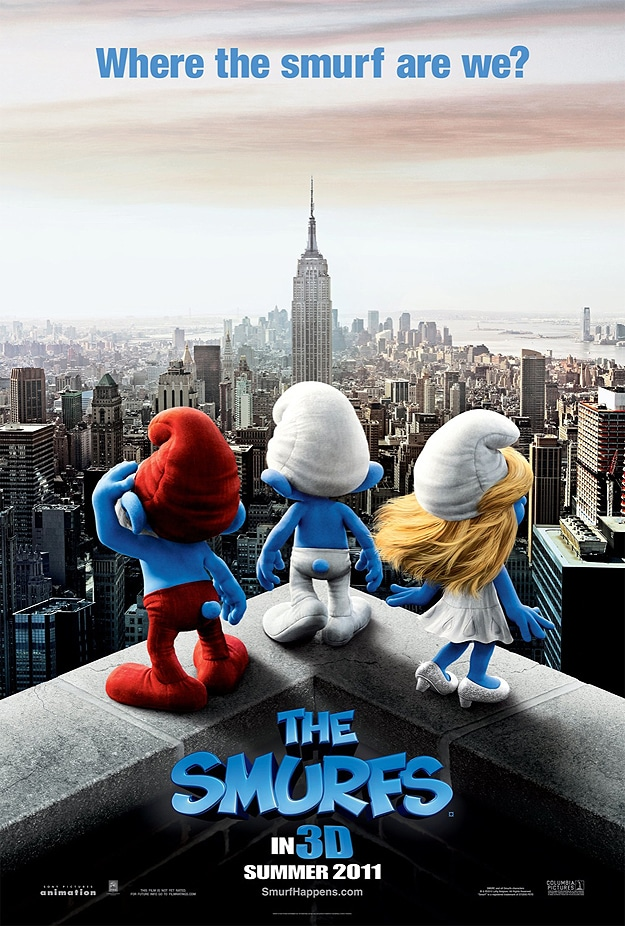 Sony Promotes Smurf Movie