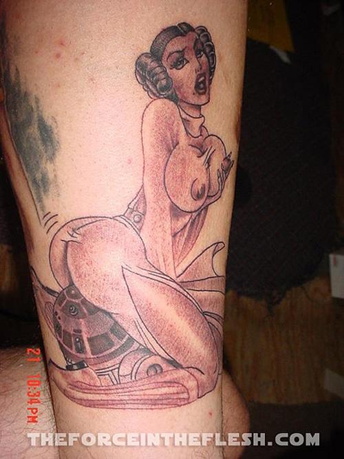 Star Wars Princess Tattoo