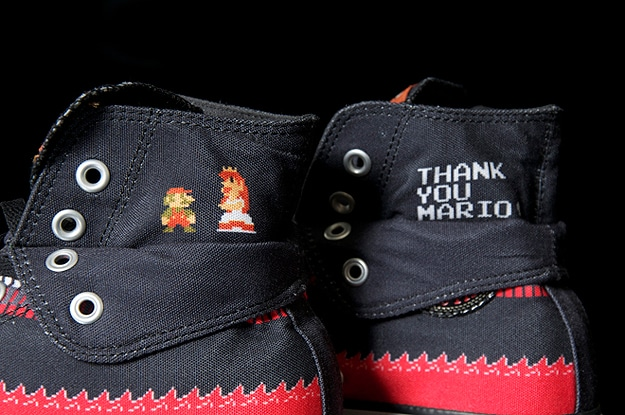 Gaming Super Mario Bros Shoes