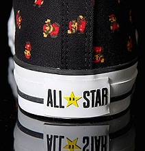 Super Mario Converse Sneakers For Retro Gaming Geeks