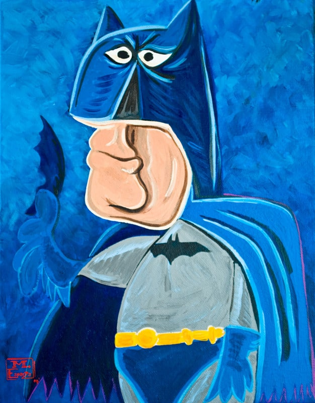 Superheroes The Pablo Picasso Way