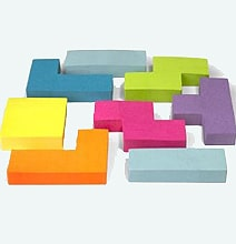 Tetris Inspired Sticky Notes For Your Geeky Office