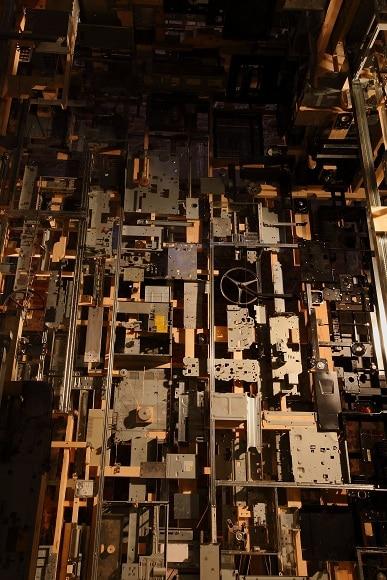 The Dead Computer Room Installation