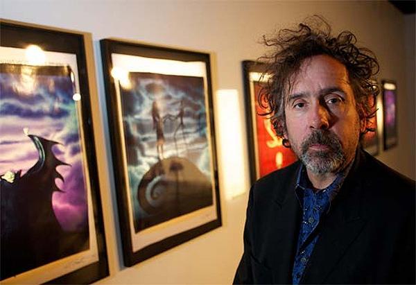 Original Tim Burton Photograph