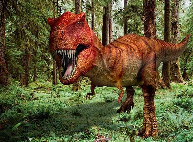 Picture of Roaring Tyrannosaurus Rex