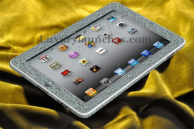 Luxury Diamond Encrusted iPad