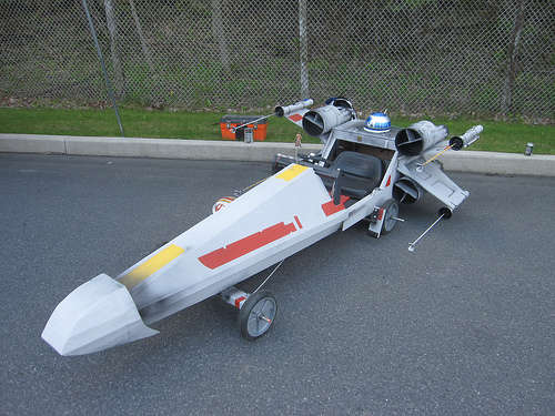 X-Wing Fighter Sopabox Car Design