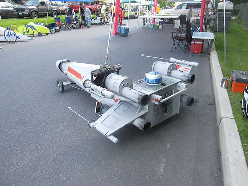 Star wars x wing fighter soapbox derby car bit rebels Wing motors automobiles