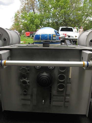 X-Wing Fighter Sopabox Car Design