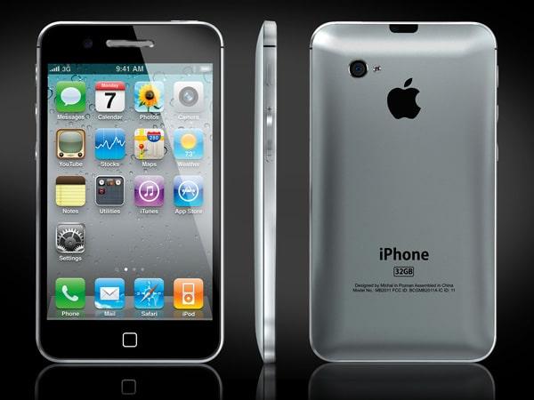 iPhone 5 Conceptual 3D Model