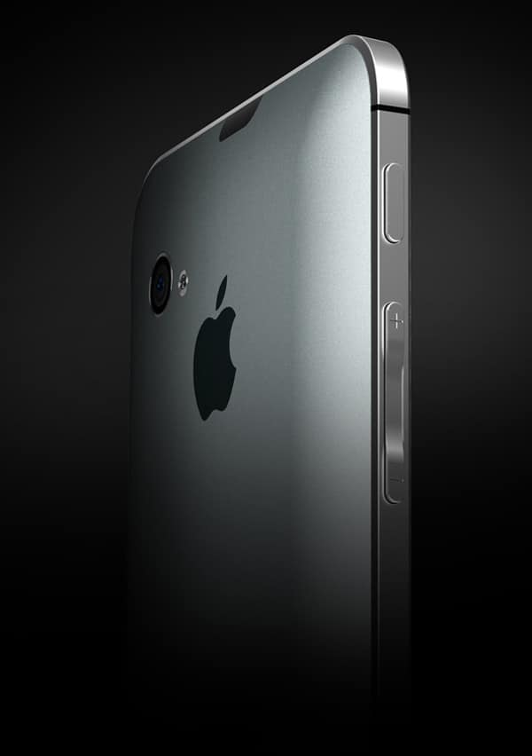 iPhone 5 Conceptual 3D Model