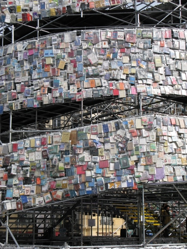 30000 Book Tower Of Babel