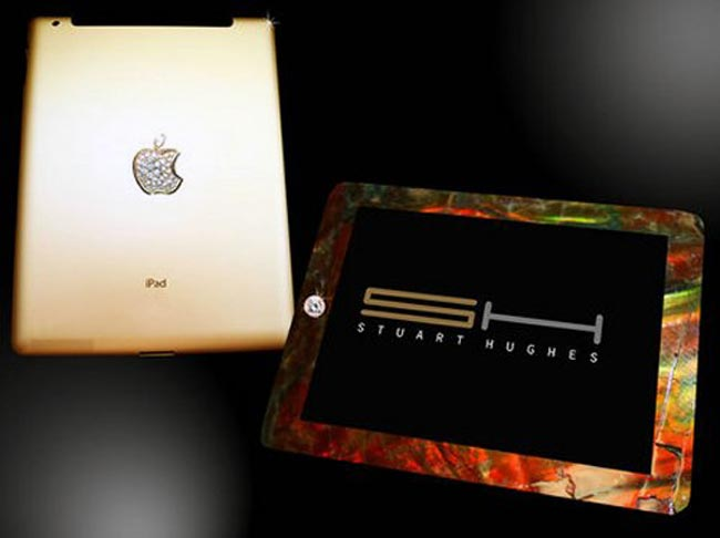 $8 Million Dollar iPad 2 Incorporates Dinosaur Bones