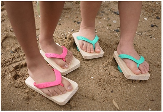 Footprint Shoes For The Beach