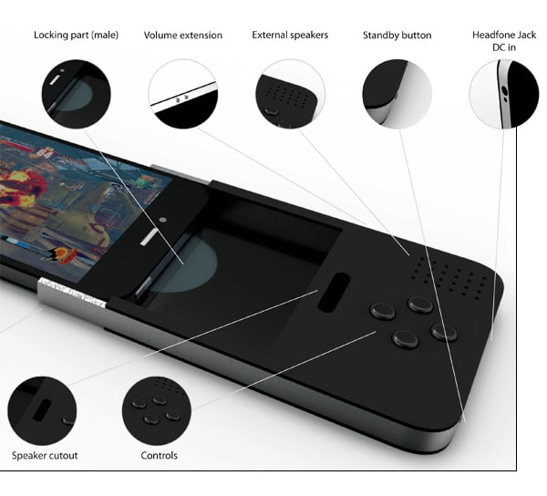 Apple iPhone Gaming Pod Extension