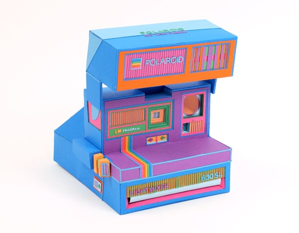 Mind Numbing Retro Gadgets Made Out Of Paper