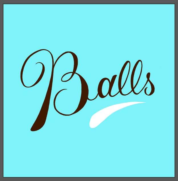 The Word Balls Drawn