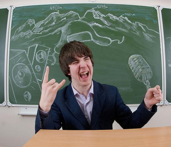 Blackboard School Yearbook Photography Creativity