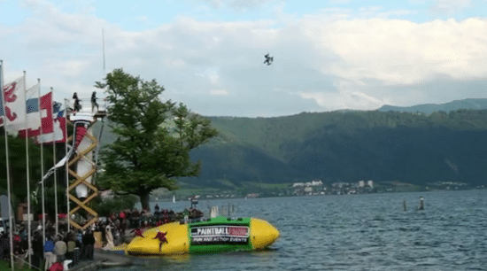 World's Highest Blob Jump Will Thrill You To The Bone