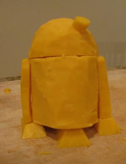 R2D2 Star Wars Cheese