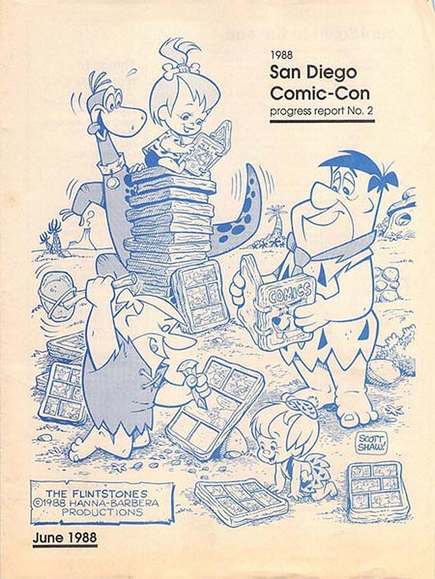San Diego 1988 Comic Con