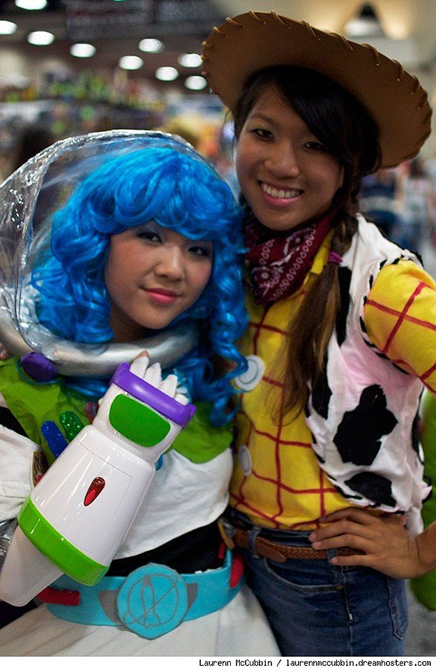 Buzz Lightyear and Woody Cosplay