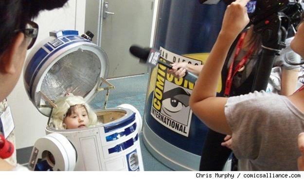 R2D2 Cute Baby Costume