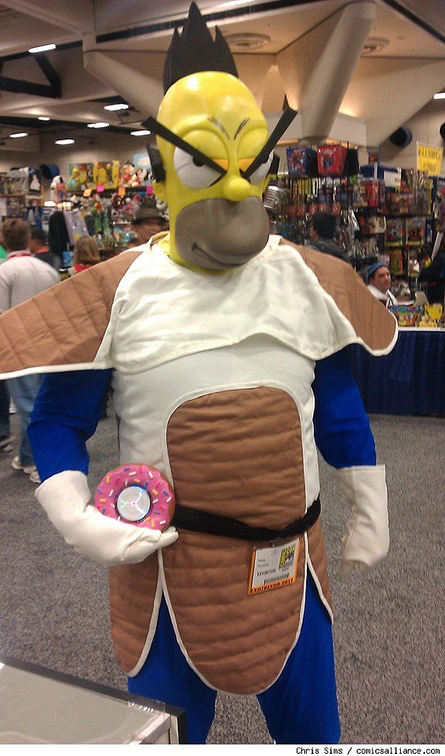 Bart Simpson Cosplay Outfit