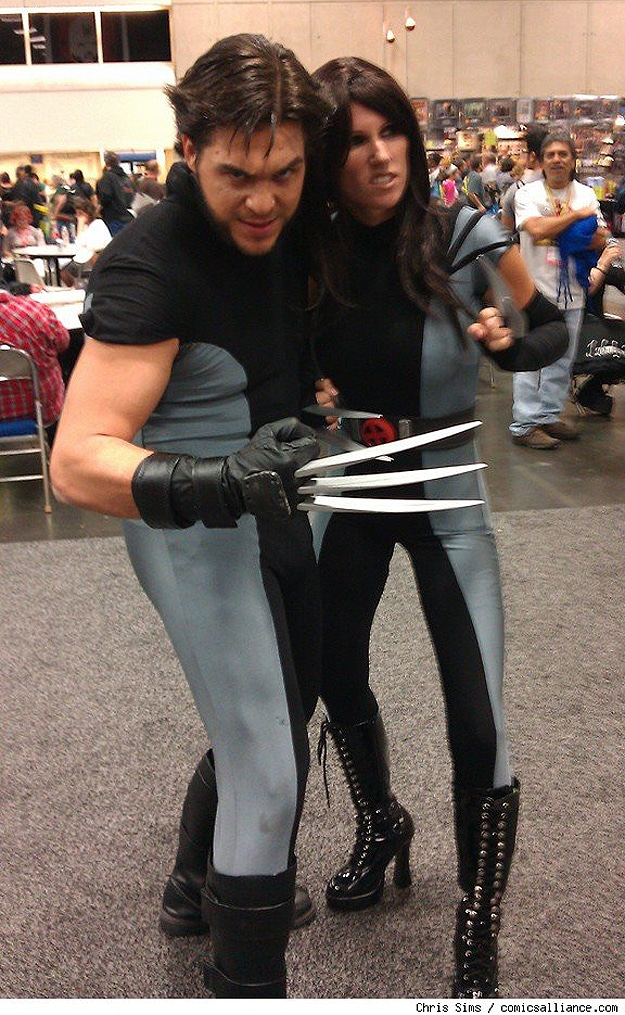 Wolverine X-Men Costume Outfits
